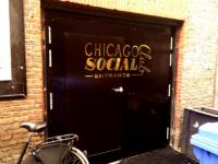 Dubbele vluchtdeur met enkele loopdeur – Chicago Social Club