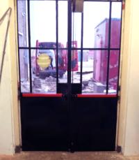 Restauratie bestaande gietijzeren deur – Pannekoek GWW