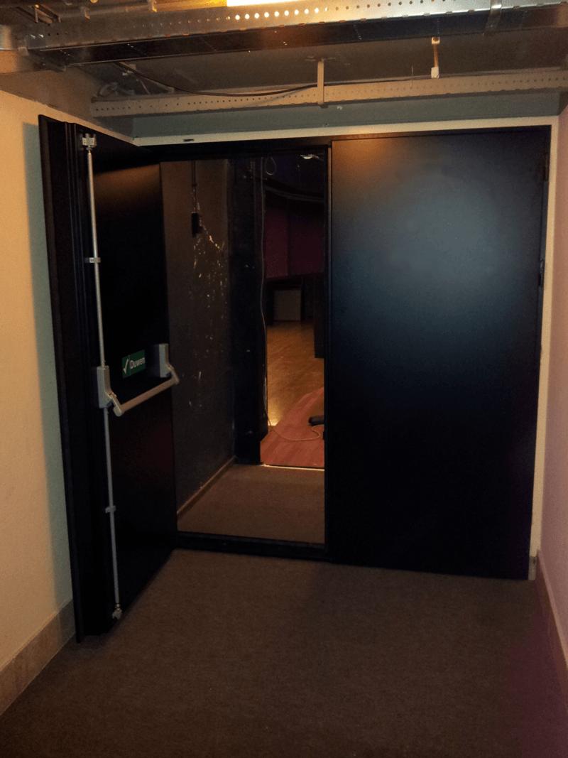 akoestische deur