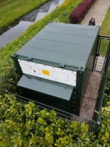 Akoestische oplossing Reefer container