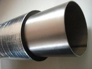 Leidingisolatie Aluminium