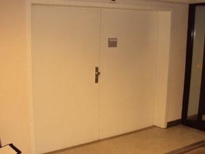 Geluidsisolerende deur